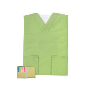 Mini Scrubs Sticky Notes book with note pad 3.5 x 4.5h