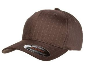 93faaa1e9a571 Flexfit Pinstripe Cap - 6195P - IdeaStage Promotional Products