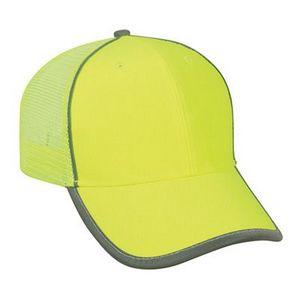 Custom Outdoor Cap Safety Mesh Back Cap