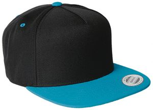 9f27499624a Yupoong Five-Panel Wool Blend Snapback - 5089M - Swag Brokers