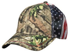 829bca3ad Outdoor Cap American Flag Mesh Back Cap