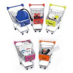 Custom Mini Shopping Cart 4.5 L x 3.25 W x 4.75 H with Full Color Logo