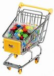 Custom Mini Shopping Cart With M&M's