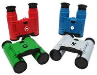 "3""x1-1/2""x1-1/2"" Mini Binoculars- available in Red, Blue, Green or White 4 x 28mm Gift Boxed"
