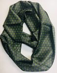 Custom 100% Silk Infinity Scarf, 10