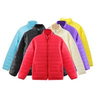 Long Sleeve Lightweight Thermal Reflective Warmth Down Jacket Coat