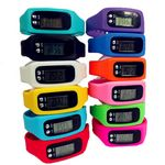 Custom Silicone Watch Digital Wristband Pedometer