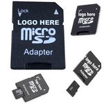Custom Micro SD and SDHC SD Card Adapters