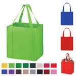 Custom Large Nonwoven Handle Shopping Garments Tote Bags