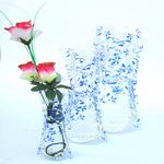 Plastic Curvy Collapsible Flower Vases