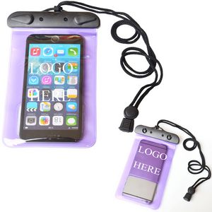 new styles af5b9 4a526 Hot Waterproof Smart Phone Bags/Pouches Come With Lanyard Cords