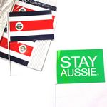 Mini Paper American / Fans / Table / Car Stick Hand Flags