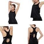 Custom Two-In-One T-back Tank Tops Workout Clothes Active-wear Yoga Bra