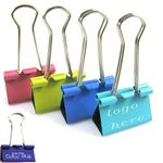 Custom Classic Standard Binder Clips / Paper Letter Clips / Money Cash Clips