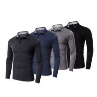 Men's Long Sleeve Polo Shirts
