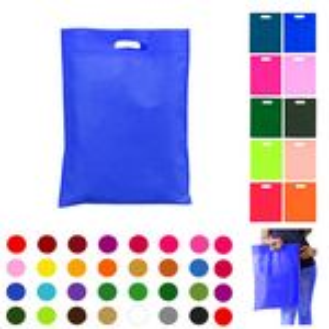 Custom Nonwoven Die Cut Handle Garment Shopping Tote Bags