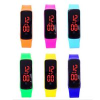 Silicone LED Digital Watches