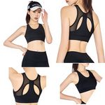 Custom T-back Workout Active-wear Impact Padded Yoga Sport Tank Top Bra