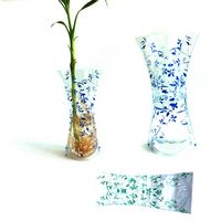 Plastic Curvy Collapsible Flower Vases M SIZE