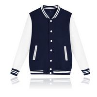 Unisex Fit Varsity Baseball Jackets Fleece Baseball Uniforms