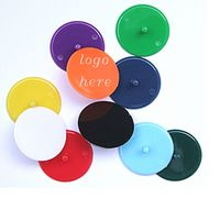 Plastic Round Golf Ball Markers