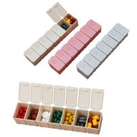 Monday To Sunday Weekly Pill Boxes / Cases / Containers