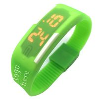 Silicone Sports Digital Watch