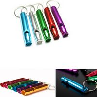 Aluminum Whistle with Key Ring