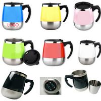15.2 oz Automatic Electric Stirring Coffee Mug
