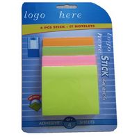 Blister Packing Sticky Memo Note Pad Cubes / Stationary Sets