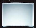 Jade Glass Beveled Bent Glass - Small