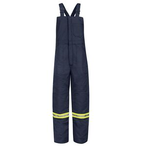 1453966bf6e2 Deluxe Insulated Bib Overall With Reflective Trim-Excel FR Comfortouch -  BLCTNV - IdeaStage Promotional Products