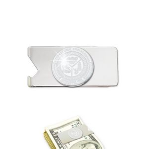 Money Clip/Bottle Opener (Custom Emblem)