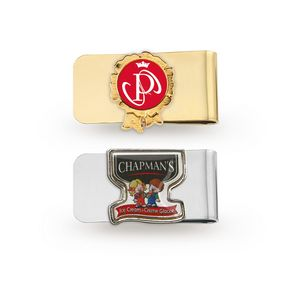 Money Clip with Photoart Classic Lapel Pin (Up to 1.25 in)