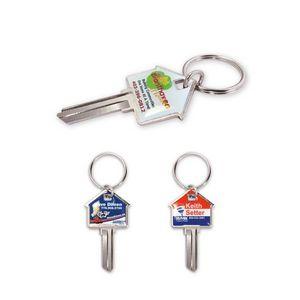 Custom House-Shaped Key