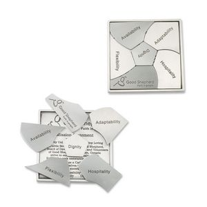Stainless Steel Puzzles -