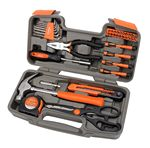Custom Apollo Tools 39 Piece General Tool Kit Orange DT9706-OR