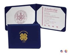 Junior Padded Diploma Cover (7 1/2