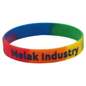 92ecae5388097 Custom Glow in the Dark Silicone Wristband