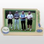Stock Signature Hole Golf Picture Frame w/ Golf Ball