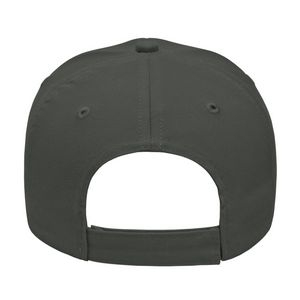 Charcoal Gray Back View Blank