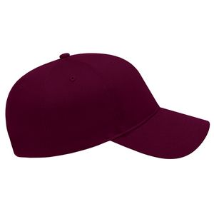 Maroon Red Side View Blank