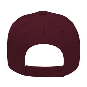 Maroon Red Back View Blank