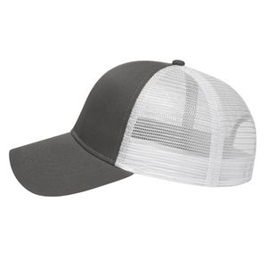 Charcoal Gray/White Side View Blank