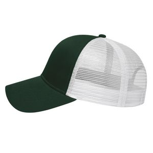 Forest Green/White Side View Blank