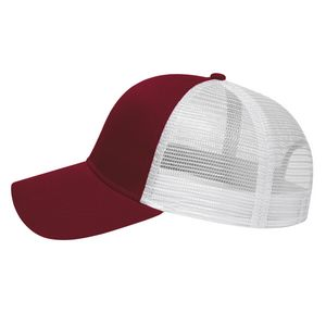 Maroon Red/White Side View Blank