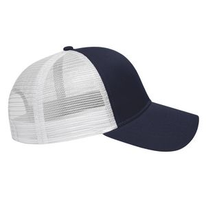 Navy Blue/White Side View Blank