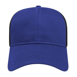 Royal Blue/Black Front View Blank