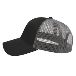 Black/Charcoal Gray Side View Blank