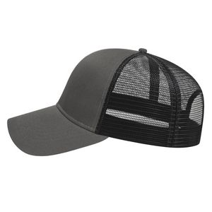 Charcoal Gray/Black Side View Blank